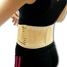 Tourmaline Self Heating Magnetic Lumbar Waist Lower Back Posture Support Belt UK