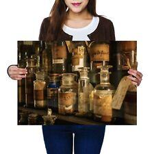 A2 - Vintage Medical Jars Chemist Poster 59.4X42cm280gsm #2367