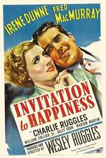 Invitation to Happiness - 1939 - Irene Dunne Fred MacMurray - Vintage Film DVD