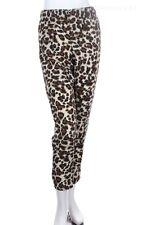 Women's Leopard Print Harem Pants Stretchable Waistband Casual S M L