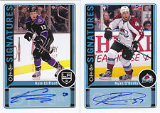12-13 OPC Kyle Clifford Auto Signatures O-PEE-CHEE LA Kings 2012