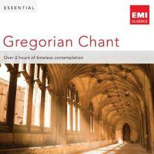 Essential Gregorian Chant (CD, Jan-2013, 2 Discs, EMI Classics)