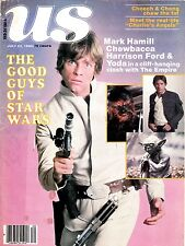 7-22-80 US  STAR WARS MARK HAMILL CHEWBACCA & HARRISON FORD ON COVER & INSIDE