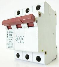 Moeller FAZ g16a backup sportello automatico linea interruttore di protezione 220/380v ~ 3 poli 16a