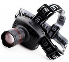New Headlamp LED Zoom 3 Mode for Emergencies! PLUS A  FREE FLASHLIGHT KEYCHAIN!