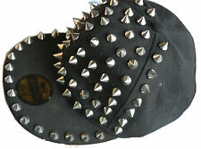 New Glory fitted Baseball Cap Metal Spike schwarz Punk Karneval Xin Chang Design