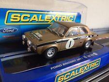 Scalextric Ford Escort MK1 RS 1600 Rally Car Uniflo No1 (C2920) *Car Mint*