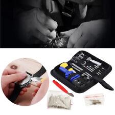 Uhrmacherwerkzeug Set 144 tlg Uhrenwerkzeug Uhrwerkzeug Uhrenöffner Reparaturset