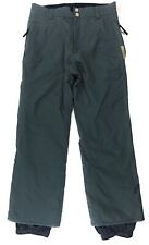 Burton Toast Snowboard Pants Womens Medium Insulated Snow Ski Side Vents Green