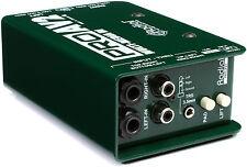 Radial Engineering ProAV2 Stereo Direct Box R800 1115 PRO AV2 DI IN ORIG BOX!!!