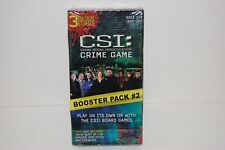 NEW SEALED CSI Crime Scene Investigation Game Booster Pack #2