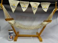 Corona Extra Light Beer Fruit Mini Hammock Tailgate House Jimmy Buffett Party