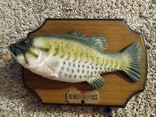 Big Mouth Billy Bass The Singing Fish 1999 Gemmy Industries Untested