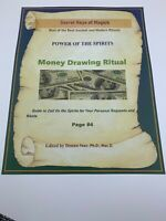Book of Shadows MONEY DRAWING RITUAL Best Spells Magick
