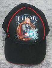 Thor God Of Thunder Marvel Studios 2011 Sponsored Strapback Black Hat