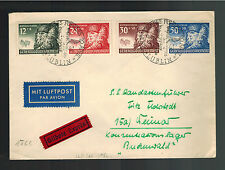 1941 Lublin Poland to Germany Buchenwald Concentration Camp Guard KZ Cover