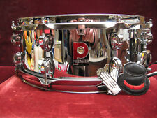 VTG 90's Premier England COS Snare Drum w/ Mirror Polished Shine Excellent Cond!