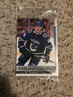 2018-19 UPPER DECK ELIAS PETTERSSON YOUNG GUNS UD 🔥ROOKIE CANUCKS JUMBO MINT🔥