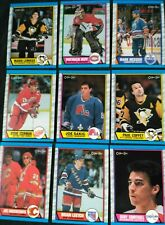 1989-90 O-Pee-Chee Hockey Cards (176-330) -  Pick From List - Fleury, Sakic RC
