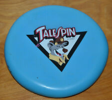 VINTAGE DISNEY TALESPIN RUBBER FRISBEE KELLOGG CEREAL PREMIUM 1991 TAILSPIN