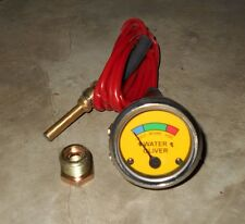 Oliver Tractor Temperature Gauge Yellow Face