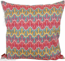 MISSONI HOME PILLOW COVER GLOSSY COTTON SATEEN MERCERIZED DIAMANTE T57 LACE PRIN