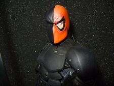Custom Deathstroke Head Sculpt PAINTED 1/6 scale From Batman Arrow DC Universe
