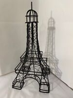"""VINTAGE WIRE EIFFEL TOWER STATUE LARGE 14"""""""