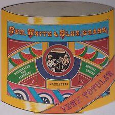 RED, WHITE & BLUE (GRASS): Very Popular GRC Vinyl LP BLUEGRASS NM-