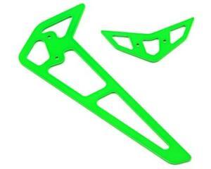 Blade 360 CFX 3S Carbon Fiber Fins (Green) [BLH5049]