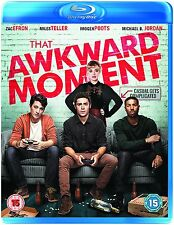 That Awkward Moment UK Blu-Ray Brand NEW Still Sealed Zac Efron Miles Teller