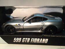 HOT WHEELS 1/18 FERRARI 599 GTB FIORANO SILVER LIMITED EDITION