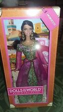 Barbie Collector Dolls of the World DOTW Morocco 2012 Passport Mattel X8425 NRFB