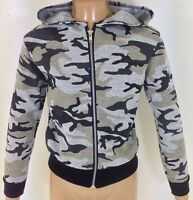NEW Girls Pink Camo Camouflage Army Jacket Coat Age 2 3 4 5 6 7 8 9 10 11 12 13