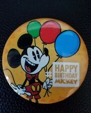 Disney parks Mickey Mouse 88th Happy Birthday 2016 Commemorative Button