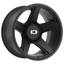 "4-Vision 390 Empire 20x9 6x135/6x5.5"" +12mm Satin Black Wheels Rims 20"" Inch"