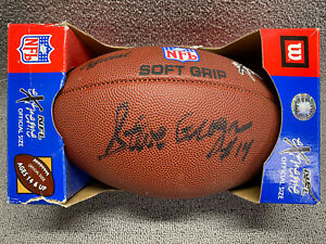 Steve Grogan ~ Signed Wilson Football ~ New England Patriots ~ Autographed