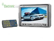 MONITOR LCD 7 POLLICI TELECOMANDO 3 INGRESSI A/V K-M70 IDEALE VIDEOSORVEGLIANZA