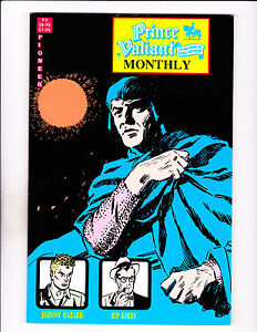 "Prince Valiant Monthly No 6  -1989-Strip Reprints Soft Cover- ""Hazard / Kirby """