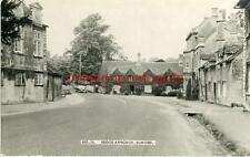 REAL PHOTOGRAPHIC POSTCARD OF BRIDGE APPROACH, BURFORD, OXFORDSHIRE BY FRITH