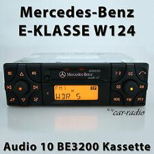 Original Mercedes Audio 10 BE3200 Becker Kassette W124 Radio 1-DIN E-Klasse S124