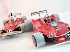 1/18 Exoto Ferrari 312 T Niki Lauda & 312 T4 Villeneuve Gift set 97SC1