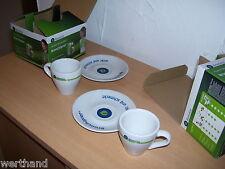 2x Espressotasse Tasse Werbetasse  Bionrica  Bronchipret  in OVP