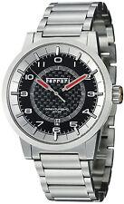 Ferrari Men's Granturismo Black Dial Stainless Steel Automatic Watch FE12ACCCMBK