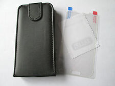 GALAXY S4 FLIP CASE/COVER SAMSUNG GALAXY S4 i9500 ,BLACK,FREE SCREEN PROTECTOR