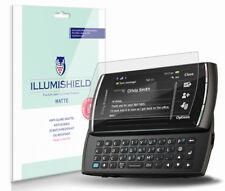 iLLumiShield Anti-Glare Matte Screen Protector 3x for Sony Ericsson Vivaz pro