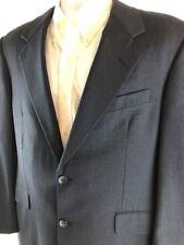 Hickey Freeman Navy Lora Piana Sport Coat Blazer Suit Coat - Size 40R Regular