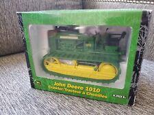 Ertl John Deere 1010 Crawler Farm Toy Tractor Dozer GREEN  2001 15191 1/16