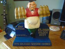 Erlanger Pa beer back bar chalk statue Rare Blacklighted