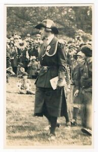 PRINCESS ROYAL MARY - SIX PRIVATE PHOTO POSTCARDS - GIRL GUIDE EVENT C.1930